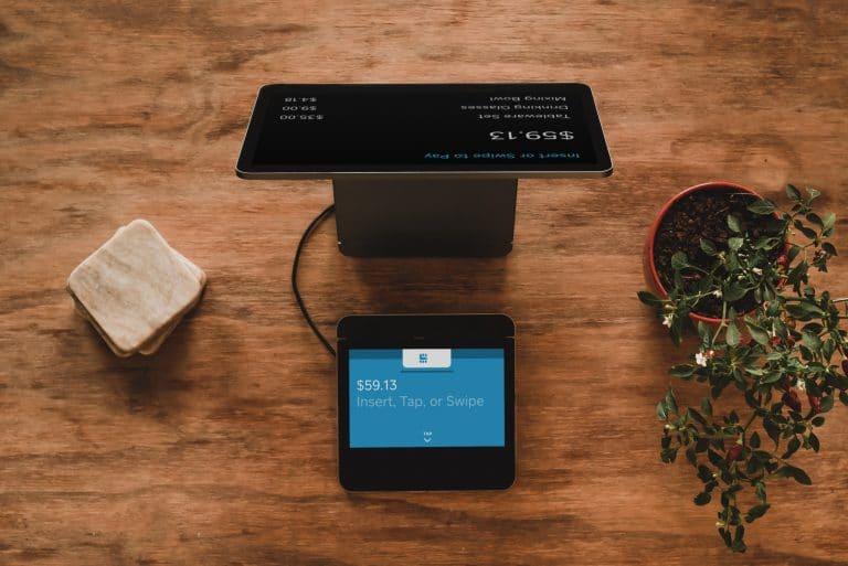 neuartigen und technologischen Kassensystemen